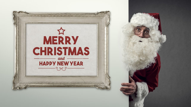 Santa Claus and Christmas wishes