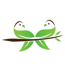 Environmental doves icon