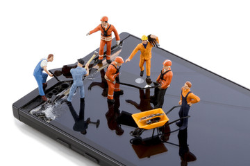Smartphone screen repair