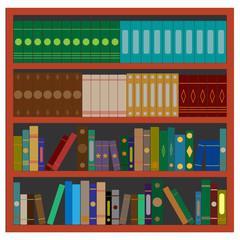 Elegant bookcase