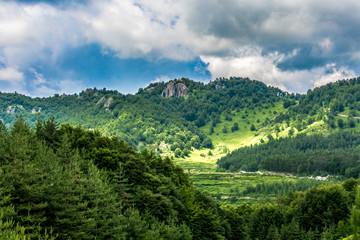 Amazing landscape in Rhodope Mountains, Bulgaria