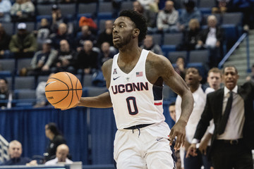 NCAA Basketball: Monmouth-NJ at Connecticut