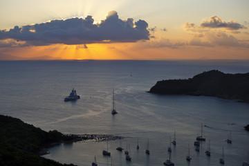 English Harbour Sunset, Antigua