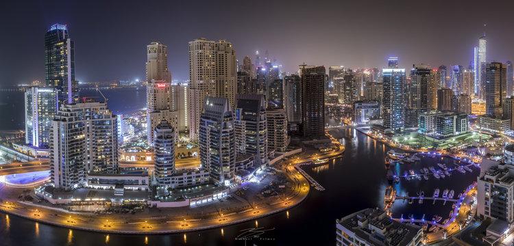 Dubai Marina Pano