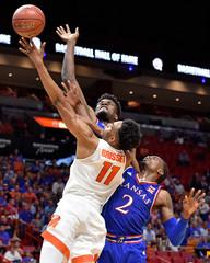 NCAA Basketball: Kansas at Syracuse
