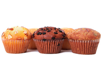 Various different muffin cup cakes