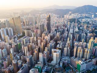 Compact city of Hong Kong