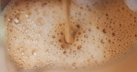 Coffee from coffee machine