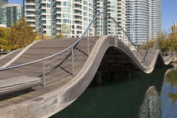 The Toronto Waterfront Wavedecks, Canada