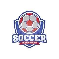 Soccer logo design