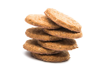 cereal biscuits isolated