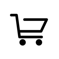 Fototapeta wózek sklepowy ikona obraz