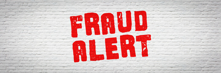 Fraud alert !