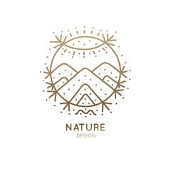 Logo sacred nature
