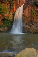 Chattrakan waterfall, Beautiful waterwall in Chattrakan nationalpark Pitsanulok province, ThaiLand.