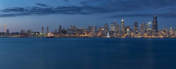 Panorama of Seattle's Skyline