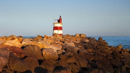 Light house in Ilha De Tavira, Portugal