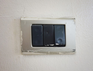 old electrical switch