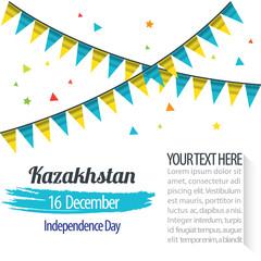 Independence Day of Kazakhstan Design Illustration Template
