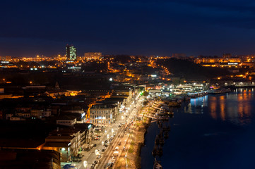 Porto, Portigal, photo de nuit