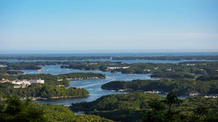 横山展望台から見る英虞湾
