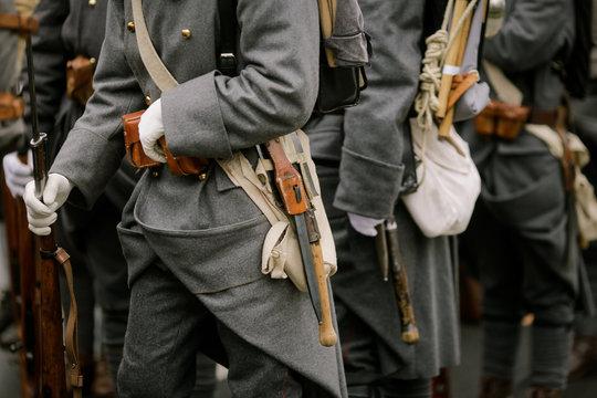 WWI reenactors