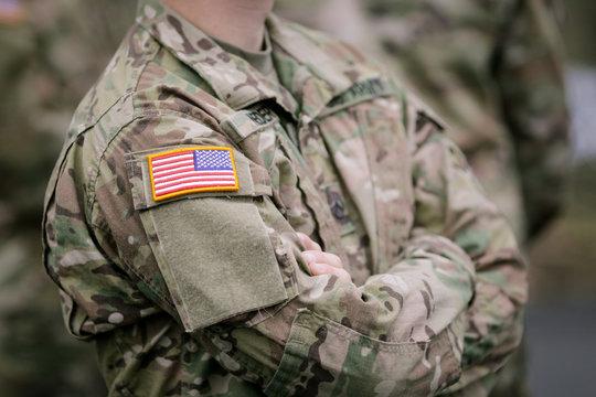 US Army troops