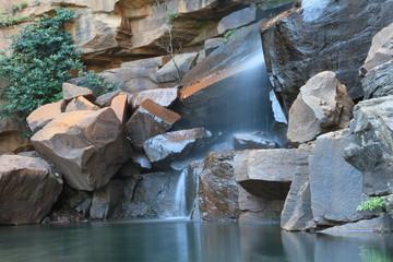 waterfall somewhere in australia
