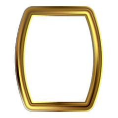 Frame gold clip art
