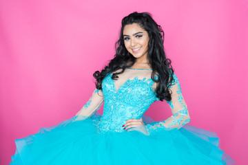 Teen In Prom Dress