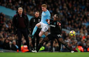 Premier League - Manchester City vs West Ham United