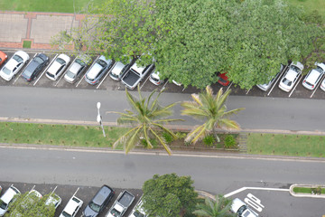 At Mhlanga Rocks, Durban, Kwazulu Natal In South Africa here we see parking for clients of this 5 star Hotel.