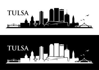 Wall Mural - Tulsa skyline - Oklahoma