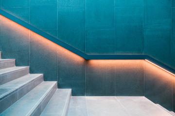Obraz Scala illuminata design - fototapety do salonu