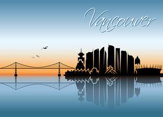 Vancouver skyline - Canada