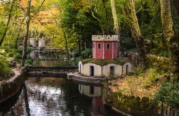 Palace Gardens in Sintra, Portugal