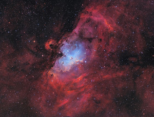 Messier 16 - The Eagle Nebula with the Pillars of Creation