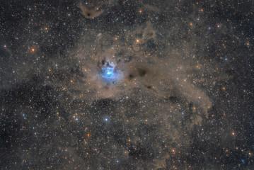 NGC 7023 - The Iris Nebula in the Constellation of Cepheus