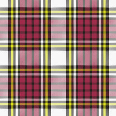 Traditional checkered fabric. Scottish woolen fabric. Tartan. Pattern for fashionable costume, coat and scarf.