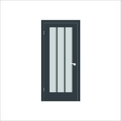 Door icon.  illustration