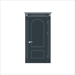 Door icon.  illustration