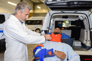 paramedics emergency drill