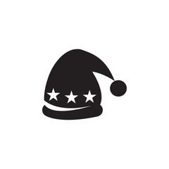 hat with pompom icon