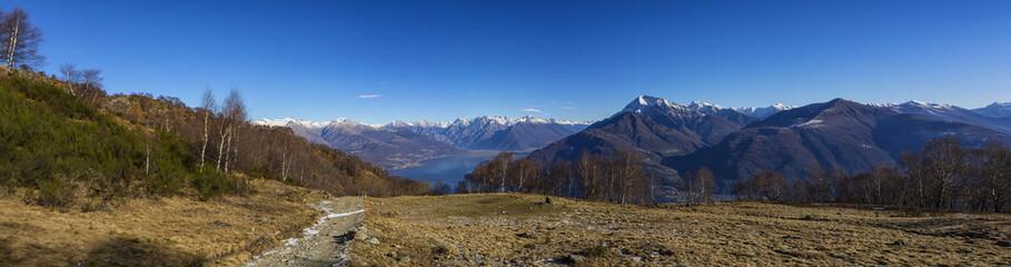Trekking sul lago di Como