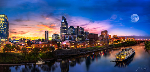 Fototapete - Nashville Sunset