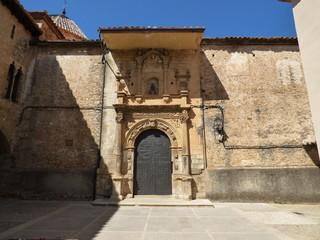 La Iglesuela del Cid. Pueblo de la provincia de Teruel ( Aragon, España)