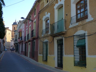 Elche de la Sierra. Pueblo en la provincia de Albacete, dentro de la comunidad autónoma de Castilla La Mancha (España)