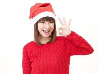 女性 クリスマス OK