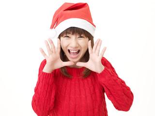 女性 クリスマス 話しかける