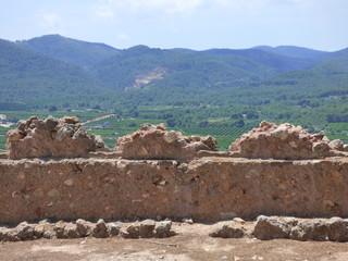 Castillo de Onda, localidad de la Comunidad Valenciana, España. Perteneciente a la provincia de Castellón, en la comarca la Plana Baja.